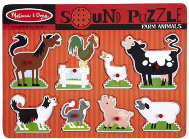 Farm Animals Sound Puzzle-2544521