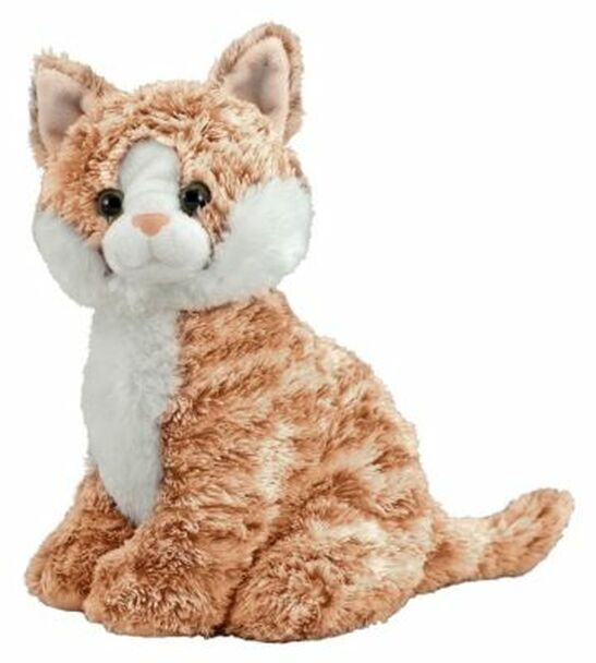 Pumpkin Tabby Cat Stuffed Animal-2544548