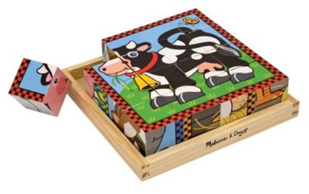 Farm Cube Puzzle-2544587