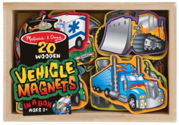 Wooden Vehicle Magnets-2544619