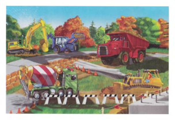 Building Site Floor Puzzle (48-Piece)-2544674