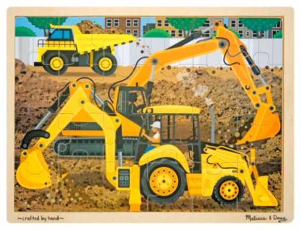 Diggers at Work Jigsaw Puzzle (24-Piece)-2544730