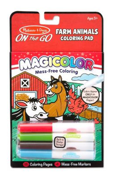 Farm Animals Coloring Pad-2544760