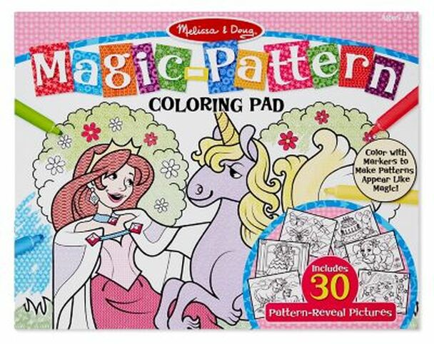 Magic Pattern Marker Coloring Pad-2544910