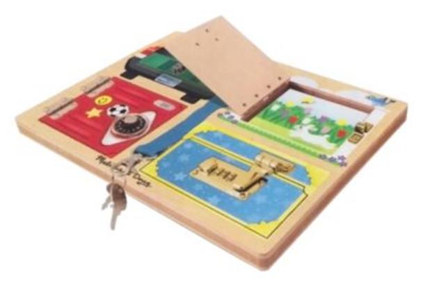 Lock & Latch Board-2544992