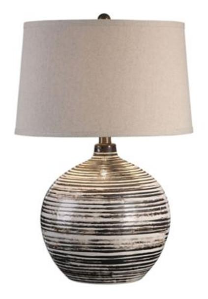 Bloxom Mocha Ivory Lamp-2763178