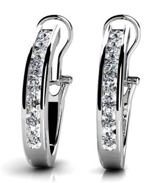 14K Diamond Earrings-3034773