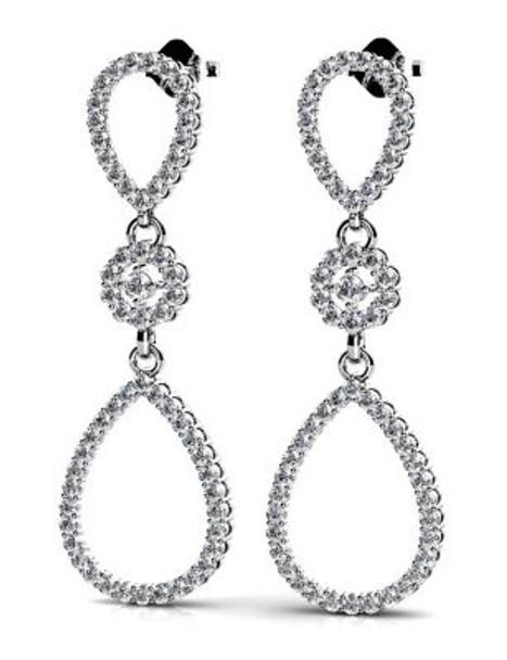 14K Diamond Earrings-3034805