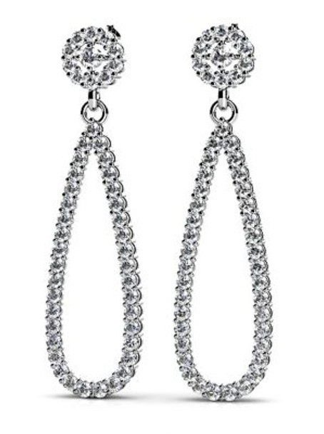 14K Diamond Earrings-3034808