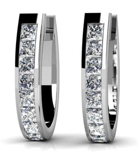 14K Diamond Earrings-3034867