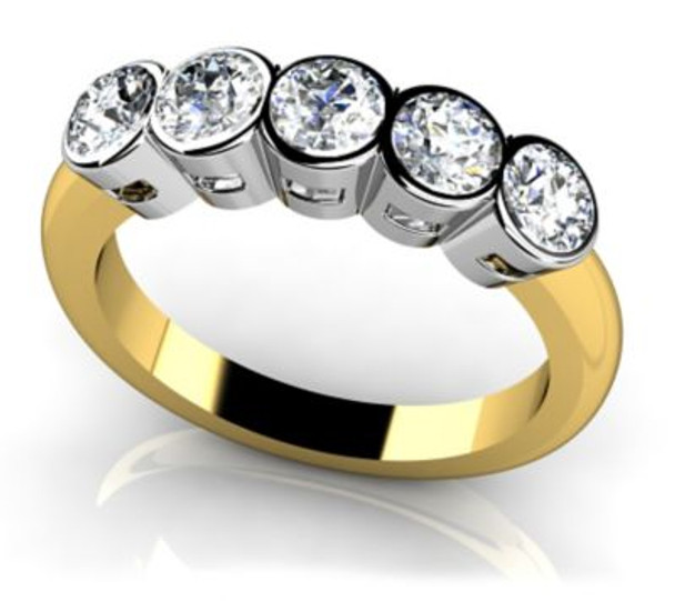 14K Solitaire Engagement Ring-3050060