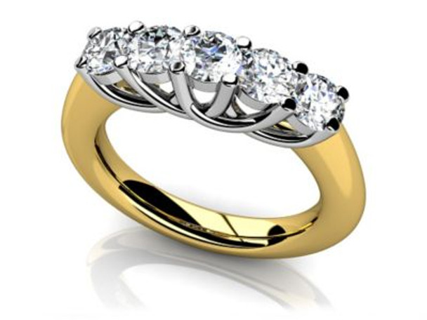 14K Solitaire Engagement Ring-3050061