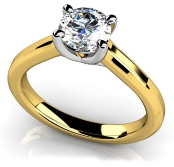 14K Solitaire Engagement Ring-3050066
