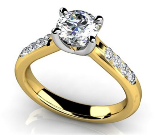 14K Solitaire Engagement Ring-3050067