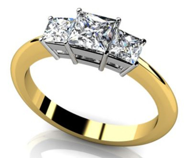 14K Solitaire Engagement Ring-3050068