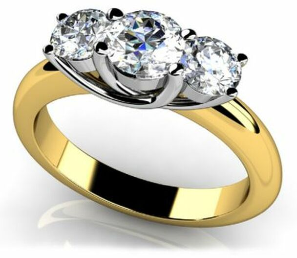 14K Solitaire Engagement Ring-3050069