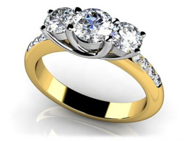 14K Solitaire Engagement Ring-3050070