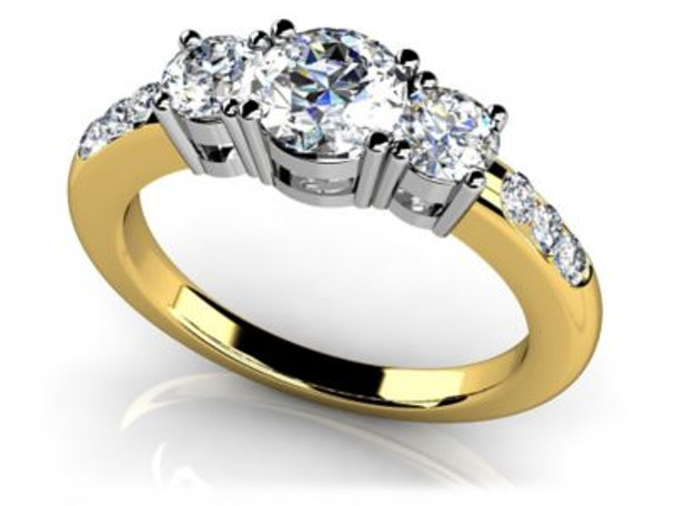 14K Solitaire Engagement Ring-3050071