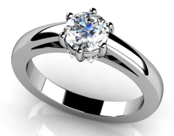 14K Solitaire Engagement Ring-3050073