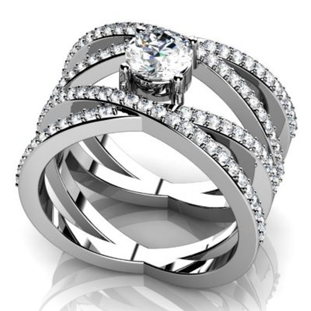 14K Solitaire Engagement Ring-3050083