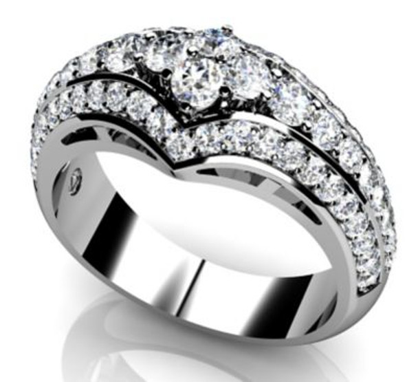 14K Solitaire Engagement Ring-3050091