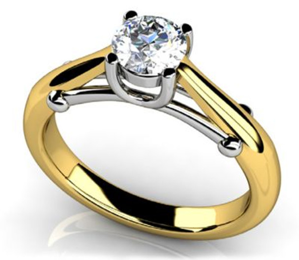 14K Solitaire Engagement Ring-3050092