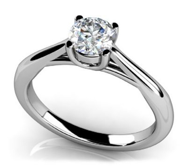 14K Solitaire Engagement Ring-3050093