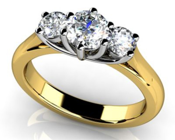 14K Solitaire Engagement Ring-3050095