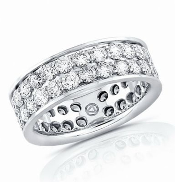 14K Eternity Band-2.4 mm.-3053594