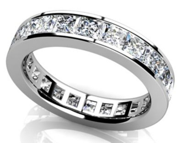 14K Eternity Band-3053601