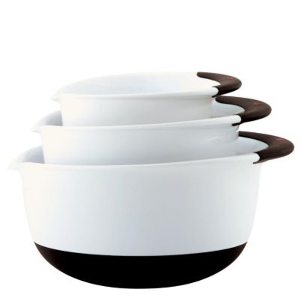 Good Grips 3-Pc Mixing Bowl Set - Plastic-3072688