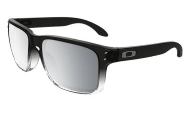 Polarized Holbrook Sunglasses-Dark Ink Fade/Chrome Iridium Polarized-3085244