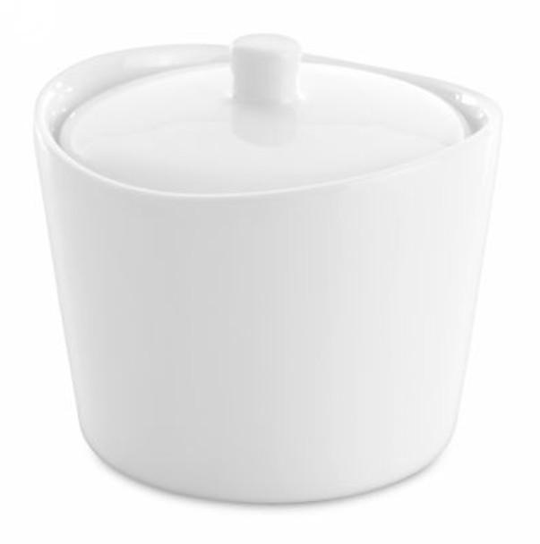 Eclipse Porcelain Sugar Bowl with Lid-3177706