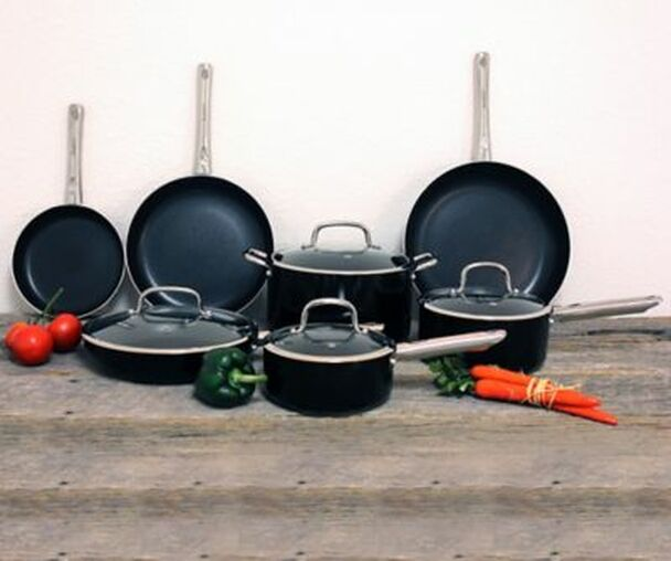 11-Piece Boreal Non-Stick Cookware Set-3206987
