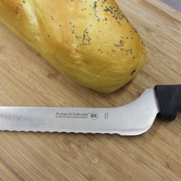 9 in. Soft Grip Scalloped Offset Bread Knife-3207103