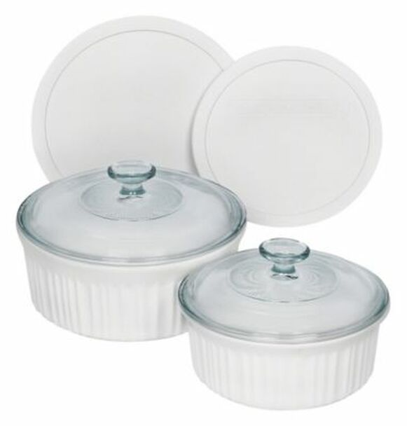 French White 6-Piece Round Set-3361176