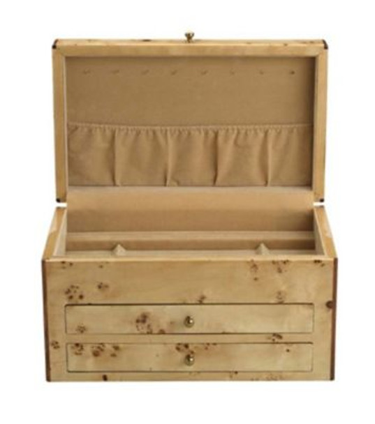 Selene Bird's Eye Maple/Thatch Jewelry Box-3362506