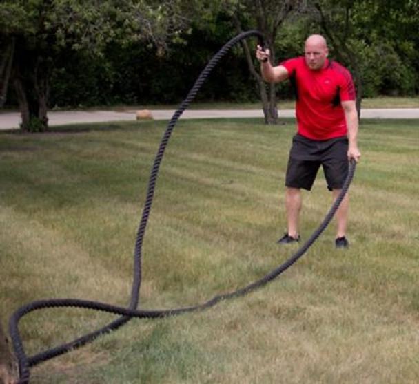 "2"" dia. x 50' Fitness Training Rope-3446416"