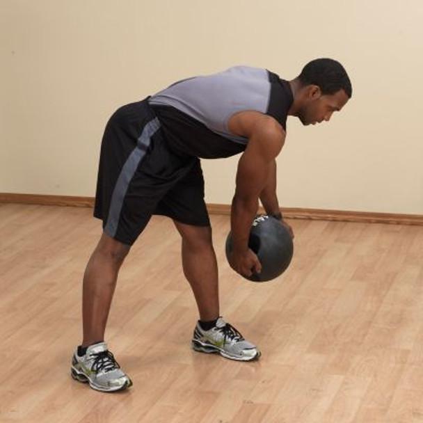 Dual Grip 14 lb. Medicine Ball-3446419