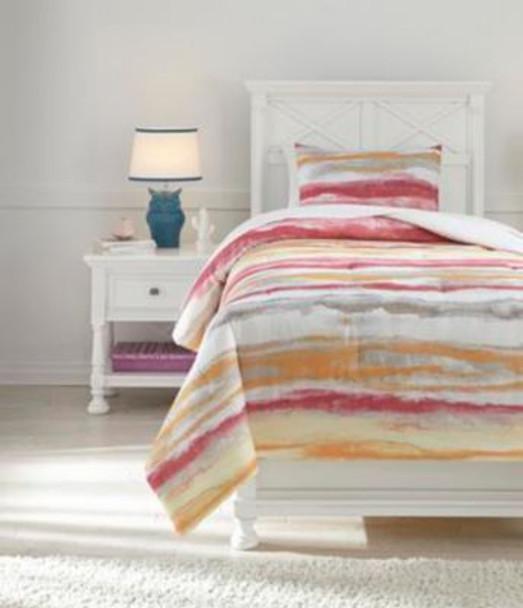 Twin Comforter Set-3465882