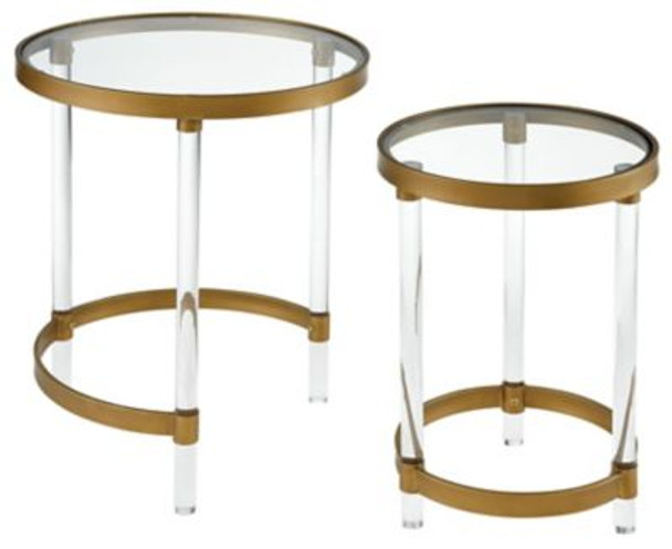 Konig Round Accent Tables-3493734