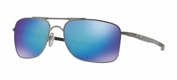 Oakley Polarized Gauge 8L Sunglasses-Matte Gunmetal/Prizm Sapphire Polarized-3516165