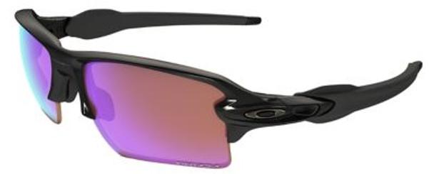 Oakley Flak 2.0 XL Prizm Golf Sunglasses-Polished Black/Prizm Golf-3516175