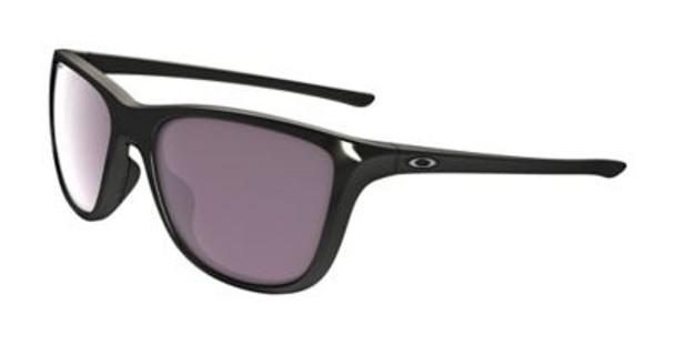 Oakley Women's Polarized Reverie Sunglasses-Polished Black/Prizm Daily Polarized, Size 55 Frame-3516194