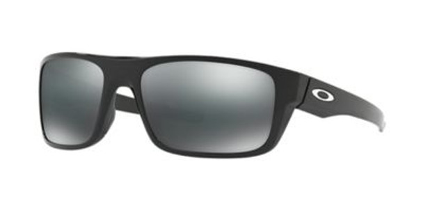 Oakley Drop Point Sunglasses-Polished Black/Black Iridium-3516197