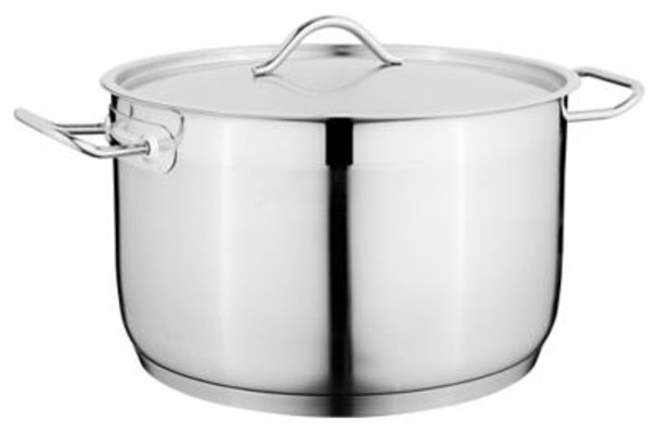 "Hotel 9.5"" 18/10 Stainless Steel Covered Casserole-3636505"