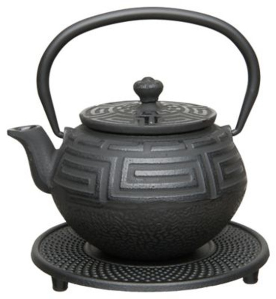 0.37 Qt. Studio 5-Piece Cast Iron Tea Set-3636561