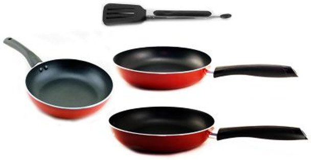 Geminis 4-Piece Non-Stick Frying Pan Set-3636658