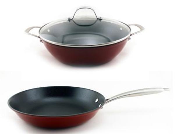 Light Cast Iron 3-Piece Cookware Set-3636720