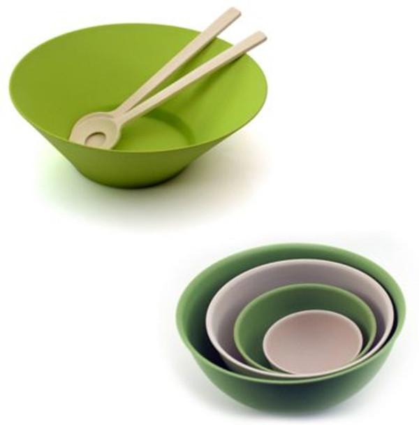 CooknCo Bamboo 7-Piece Salad Set-3636724